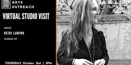 Virtual Studio Visit - Heidi Lanino, Tuxedo, NY tickets