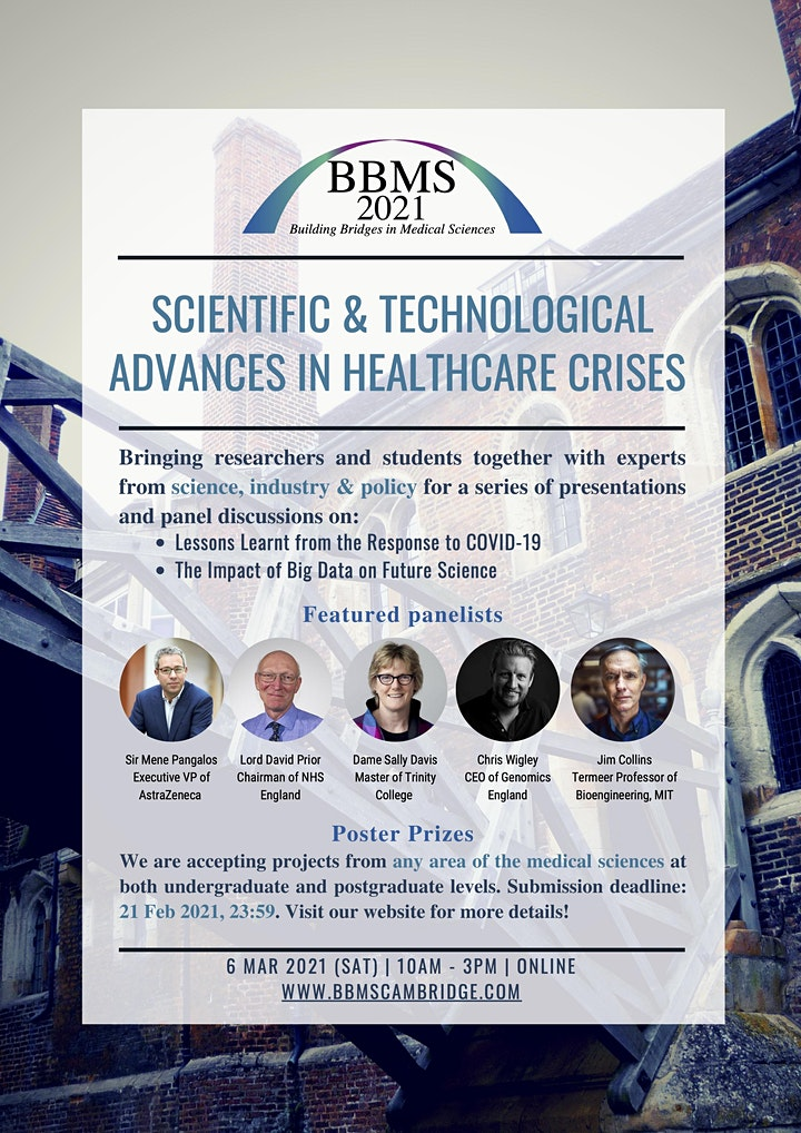 Building Bridges in Medical Sciences Conference - 2021 image
