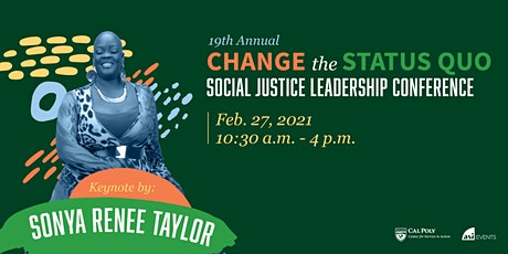 Change the Status Quo: Social Justice Leadership Conference tickets
