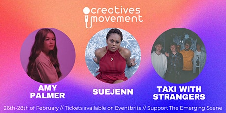 The Creatives Movement Online Gig tickets