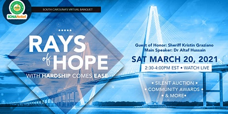 Rays  Of Hope:  With Hardship Comes Ease - South Carolina tickets