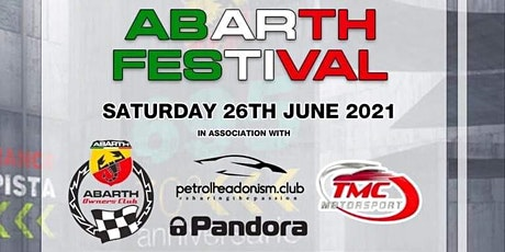 ABARTH FESTIVAL 2021 - SHOWCAR TICKETS ONLY tickets