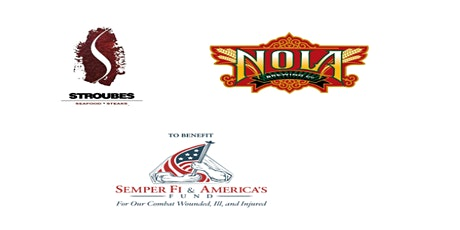 Stroubes- NOLA beer dinner to benefit Semper Fi & America's Fund tickets