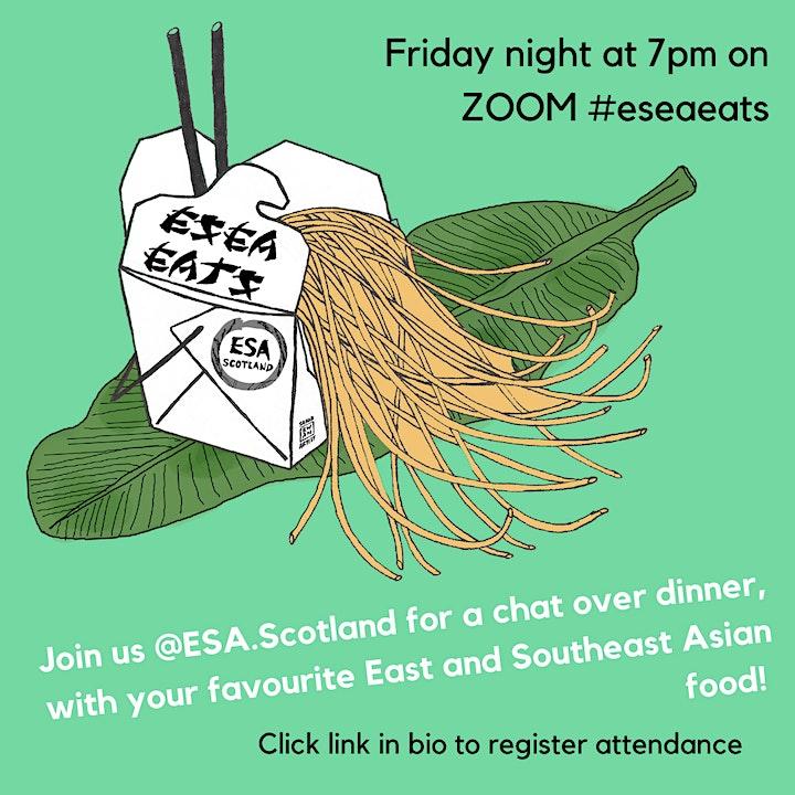 ESEA Eats with ESA.Scotland #eseaeats image