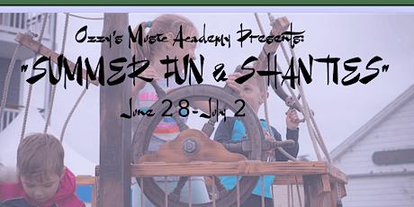 """""""Summer Fun and Shanties"""" Beginning Uke + Piano tickets"""