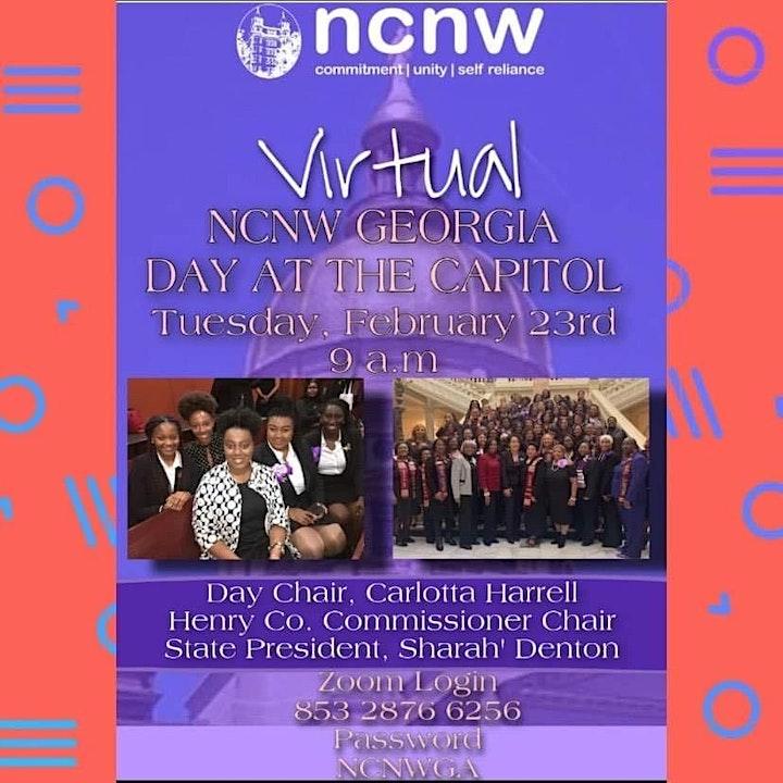 Virtual NCNW Georgia Day at the Capitol image