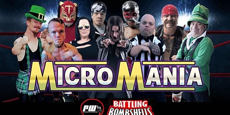 """""""MICRO MANIA WRESTLING SHOW"""" 