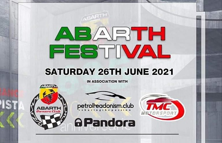 ABARTH FESTIVAL 2021 - SHOWCAR TICKETS ONLY image