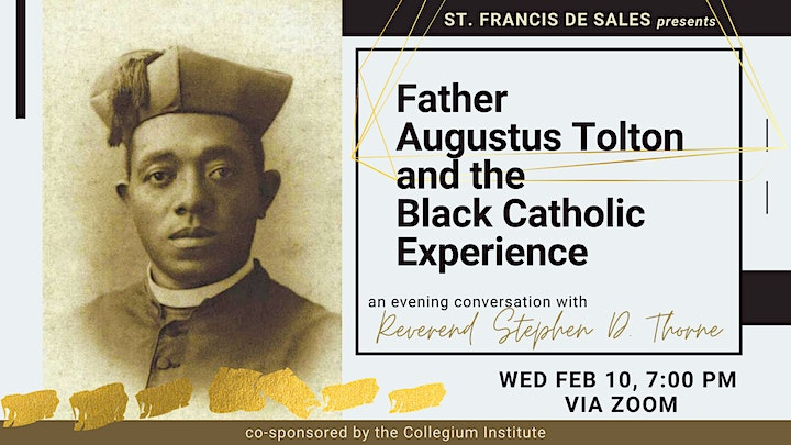 Father Augustus Tolton and the Black Catholic Experience in America image