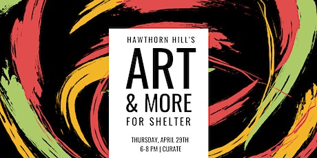 12th Annual Art & More for Shelter tickets