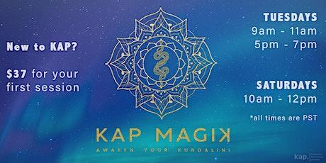 Kundalini Activation Process (KAP) Online Session with Cris & Madalina tickets