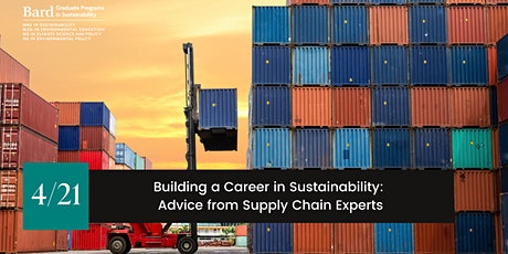 Building a Career in Sustainability: Advice from Supply Chain Experts tickets
