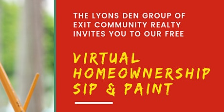 Homeownership Sip And Paint tickets