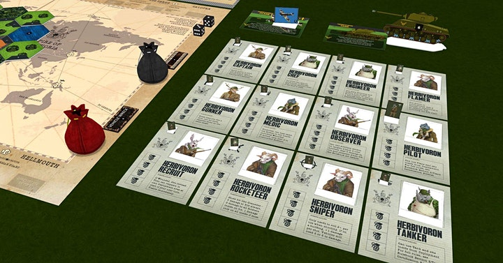 Digital Tabletop Boardgame & Card Game Tabletopia Play Sessions image