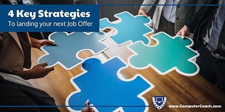 4 Key Strategies to Landing Your Next Job Offer tickets