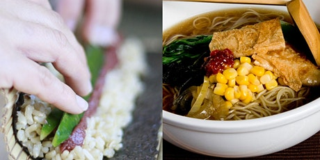 JAPANESE RAMEN AND SUSHI COOKING CLASS (INTENSIVE) tickets