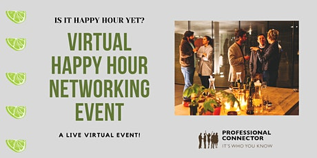 Virtual Happy Hour Networking Event| Thursday March 18, 2021 tickets