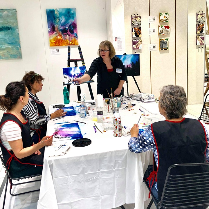 'My Inspiration' Art Experience with Sonia Farrell:Creative Hearts Art image