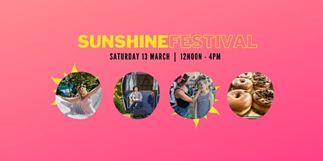 Sunshine Festival - Fun for Everyone!  Family Ticket $25 tickets
