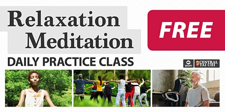 RELAXATION MEDITATION  •  Free 5 Day Introductory Course tickets