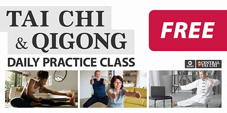 TAI CHI & QIGONG  •  Free 5 Day Online Course tickets
