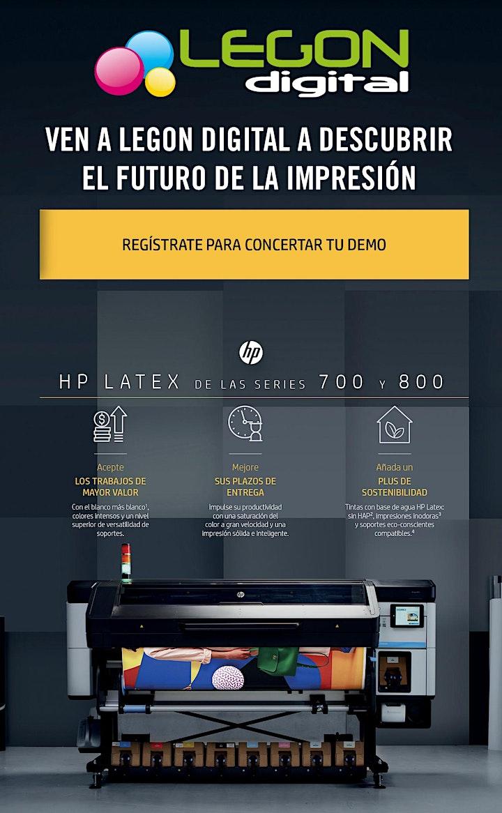Imagen de Descubre las nuevas impresoras HP Latex series 700 y 800