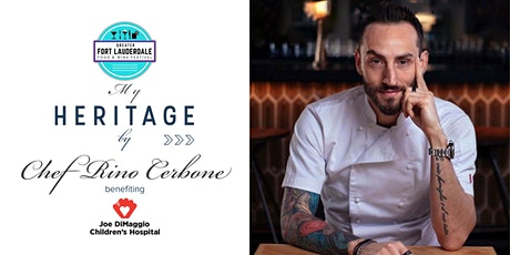 My HERITAGE by Chef Rino Cerbone tickets