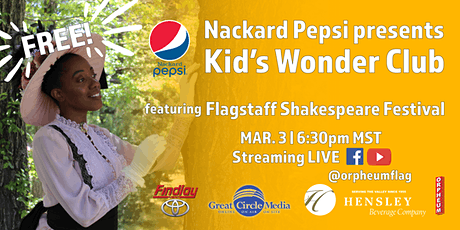 Kid's Wonder Club | A Celebration of Black Poets with Flag Shakespeare Fest tickets
