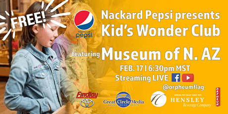 Kid's Wonder Club | Archeology Awareness Month with Museum of N. AZ tickets