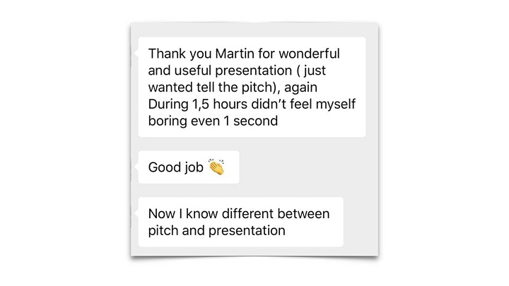 Making The Pitch #3  - How To Get A Reply In 3-Days! image