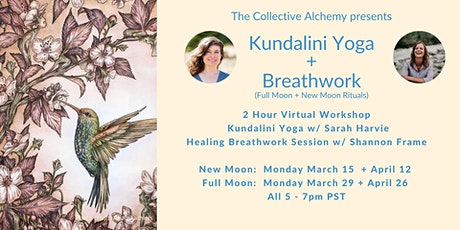 Kundalini Yoga + Breathwork Journey (Full Moon + New Moon) tickets