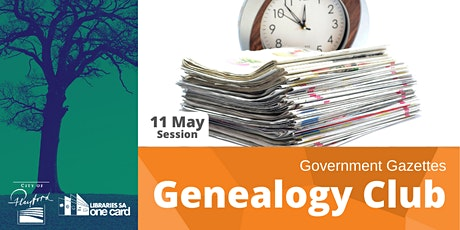 Genealogy Club: Government Gazettes tickets
