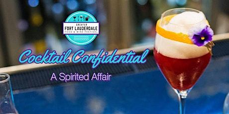 Cocktail Confidential: A Spirited Affair tickets