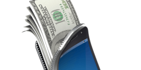 Turn your cellphone into an ATM tickets