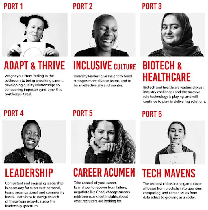 Women in Tech Regatta 2021 Virtual - Seattle/USA image
