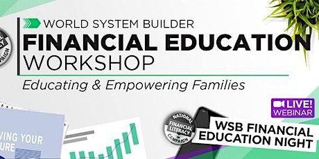 WSB National Workshops tickets