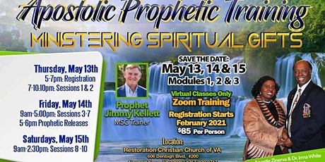 Ministering Spiritual Gifts (MSG) - Modules 1-3 tickets