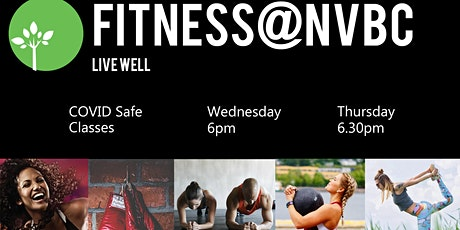 Fitness@NVBC - COVID Safe Term 1 Classes tickets