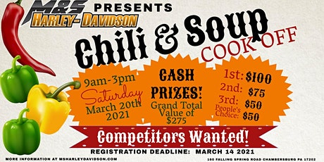 Chili and Soup Cookoff tickets