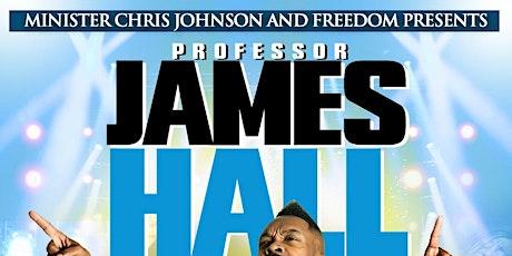 MIN CHRIS JOHNSON & FREEDOM PRESENTS PROFESSOR JAMES HALL boletos