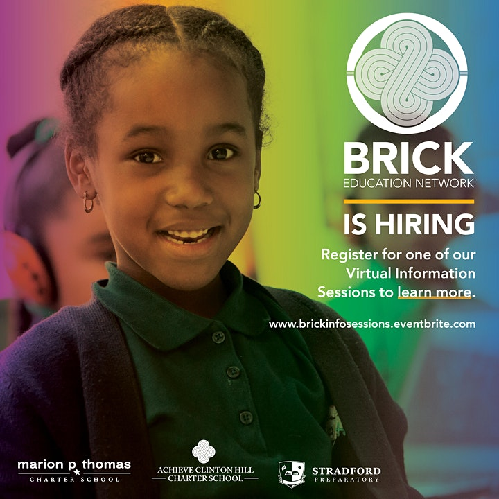 BRICK Education Network Virtual Info Sessions image