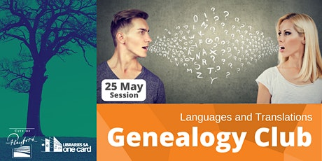 Genealogy Club: Languages & translations tickets