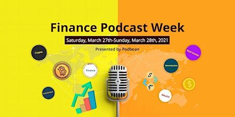 Finance Podcast Week entradas