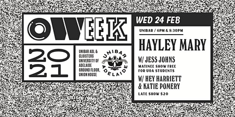 HAYLEY MARY & Guests tickets