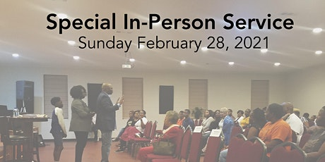 Special In Person Service tickets