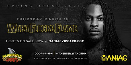 WAKA FLOCKA FLAME LIVE IN CONCERT:  SPRING BREAK 2021 tickets