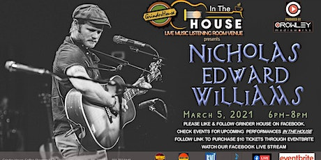 "Nicholas Edwards Williams Live ""In the House"" tickets"