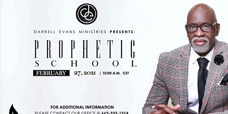 Darrell Evans Ministries Present Prophetic School Session 3 tickets