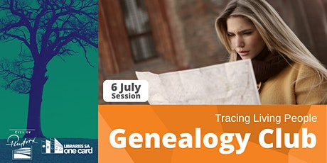 Genealogy Club: Tracing Living People tickets
