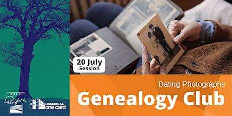 Genealogy Club: Dating Photographs tickets